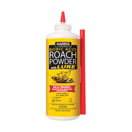 Harris Boric Acid Roach Killer With Applicator (Best Boric Acid For Roaches)