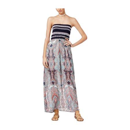 548eff087 Trixxi Womens Paisley Maxi Dress 418 S - Juniors - image 1 of 1 ...