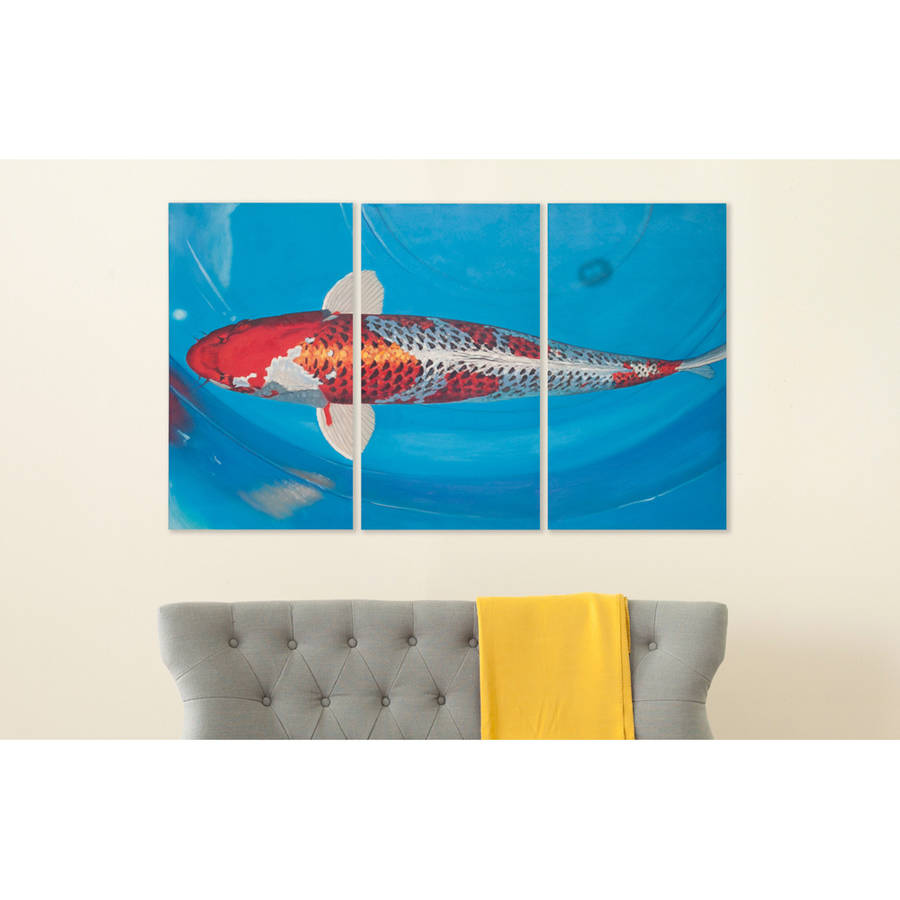 Safavieh Go Fish Triptych Wall Art, Assorted