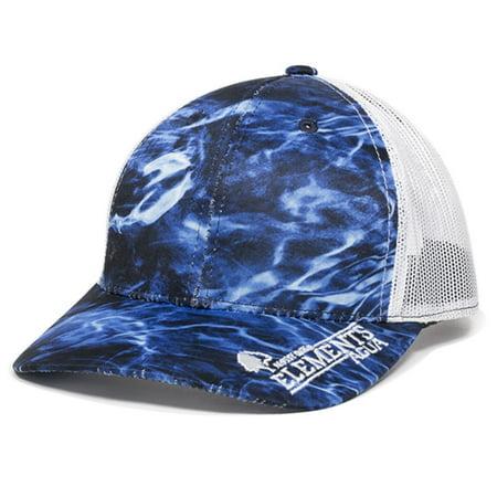 Mossy Oak Elements Fishing Hats (Agua Marlin White) - Walmart.com 60018407a247