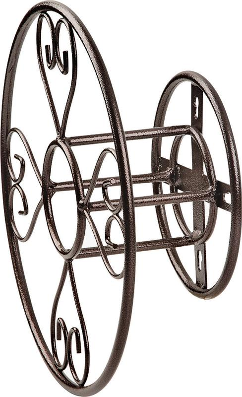 ProSource HH021 Hose Reel Hangers Decorative-Wall Mount 13-3 4 x 5 Inch by Mintcraft