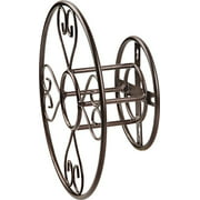 Landscapers Select Hose Reel Hangers, Decorative-Wall Mount, 13-3/4 X 5 Inch