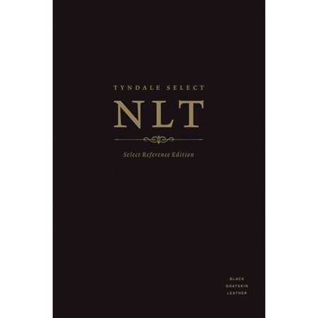 Holy Bible: Tyndale Select New Living Translation, Black Goatskin, Select Reference Edition