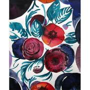 Mai Autumn Violetta by Christine Lindstrom Painting Print