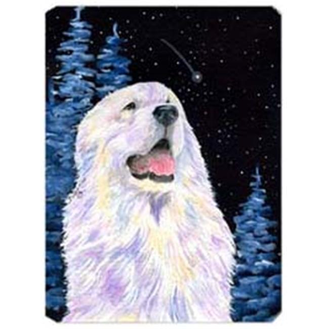 Starry Night Great Pyrenees Mouse Pad
