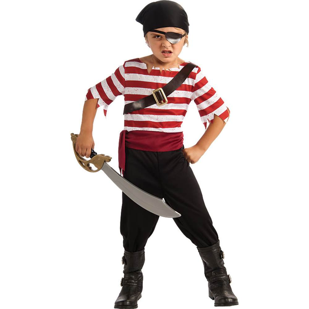 Black Jack the Pirate Kids Costume by Rubies