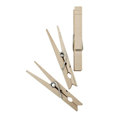 Clothespin Reindeer (Homz Wood Clothespins , Pack of)
