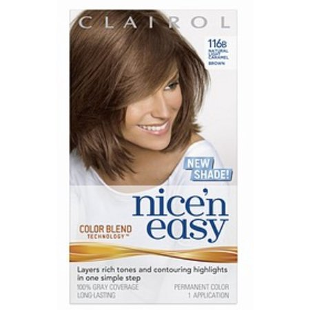 Colour Blend - Nice 'n Easy with Color Blend Technology Permanent Color, Natural Light Caramel Brown 116B 1 ea (Pack of 3)