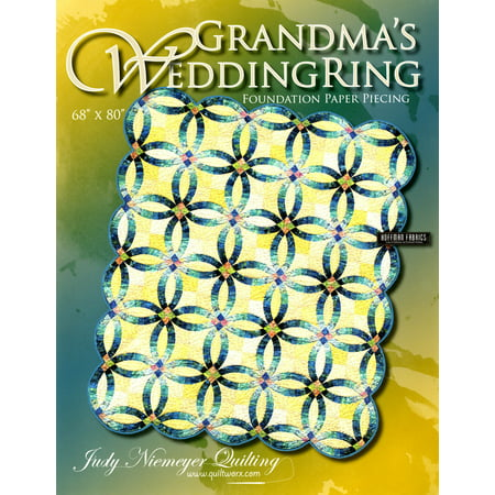 Judy Niemeyer 'Grandma'S Wedding Ring' Foundation Paper Piecing Quilt Pattern (Foundation Piecing Quilting)