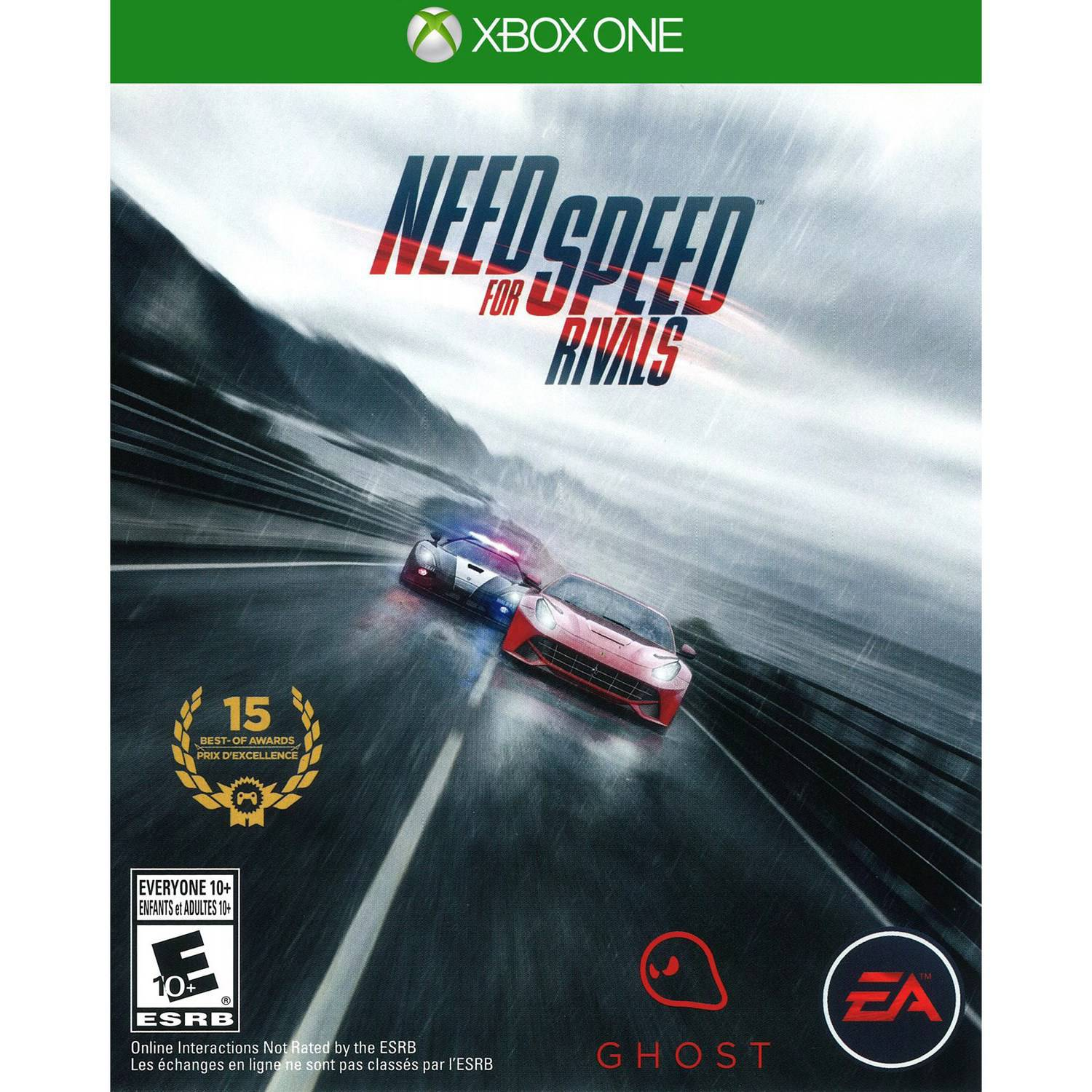 Electronic Arts Need For Speed Rivals (Xbox One) - Pre-Owned