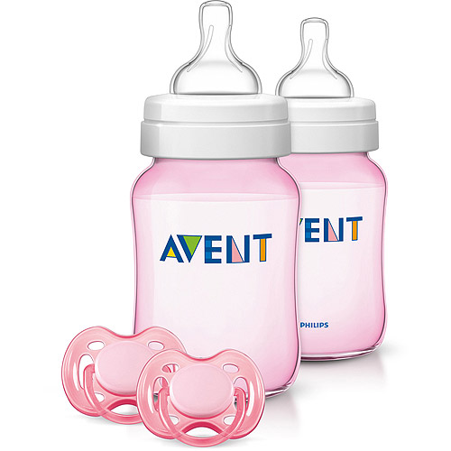 Philips AVENT Classic+ It's a Girl Set