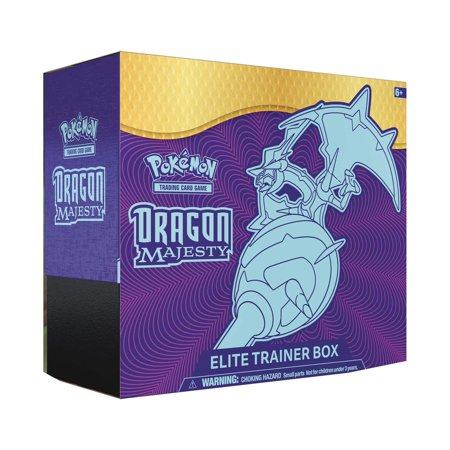 Pokemon Dragon Majesty Elite Trainer Box Set: 10 booster packs +