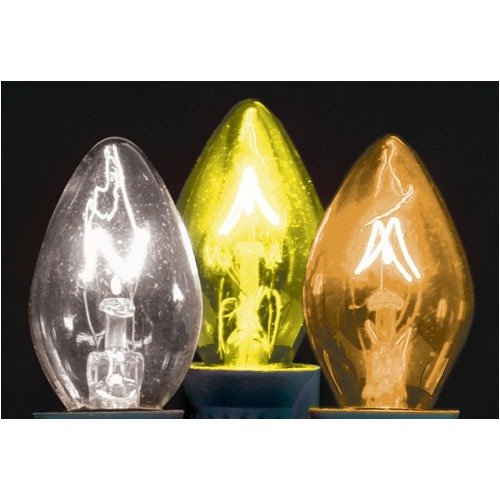 American Lighting LLC C9 Transparent-Intermediate Base Light Bulb (Set of 175)