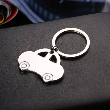 babydream1 Mini Classic Car Keychain Pendant Keychain Metal Vehicle Keyring Key Holders Decor Accessory - image 5 of 8