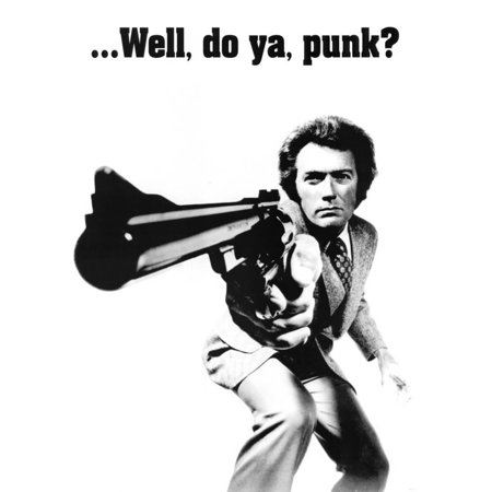 Clint Eastwood  Dirty Harry  Movie Poster   23 5X33