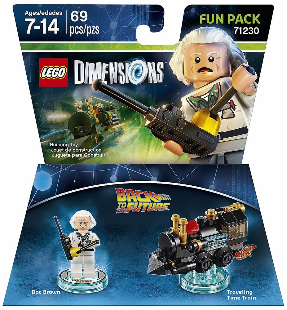 LEGO Dimensions Back to the Future Doc Brown Fun Pack (Universal)