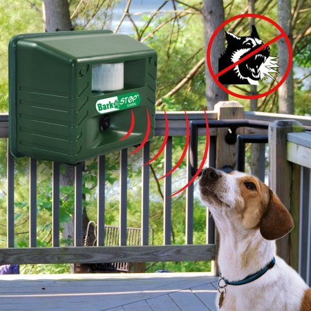 Aspectek Ultrasonic Animal Pets Repeller, Bark Stop, Dog Silencer Bark Controller, Stop Barking , 5000 ft2 coverage, with Adjustable Dials Weather Resistant