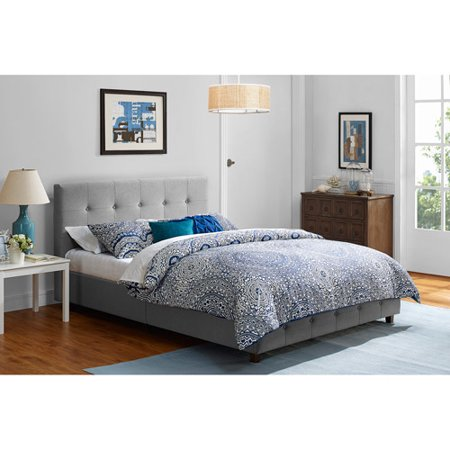 Rose Linen Upholstered Bed Multiple Sizes And Colors