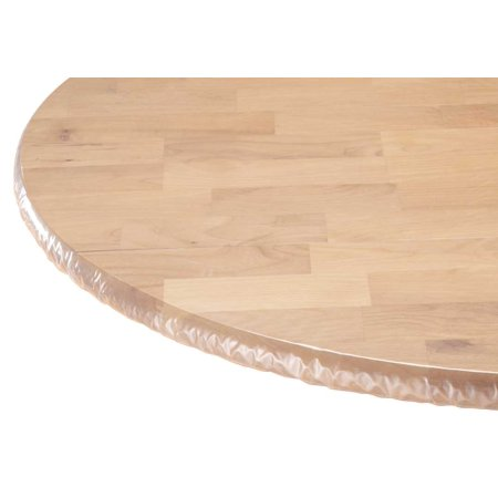 Clear Vinyl Elasticized Table Cover