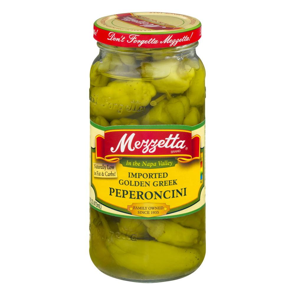 Mezzetta Imported Golden Greek Peperoncini, 16 fl oz