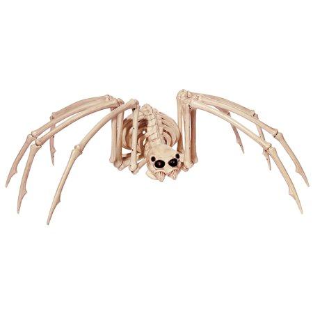 Skeleton Spider with Light-up Eyes Halloween Decoration
