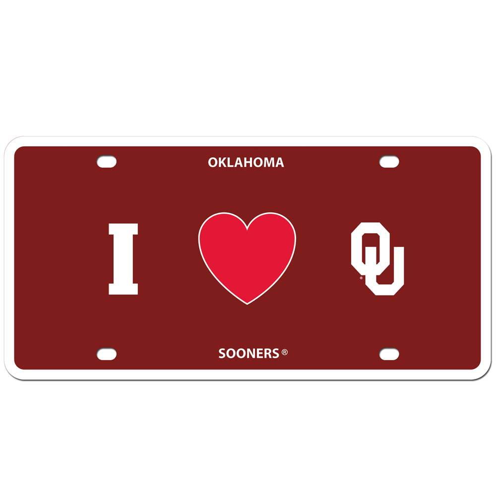 Oklahoma Styrene License Plate (F)