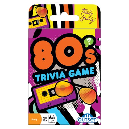 Trivia Card Set - Outset Media 80s Trivia Card Game