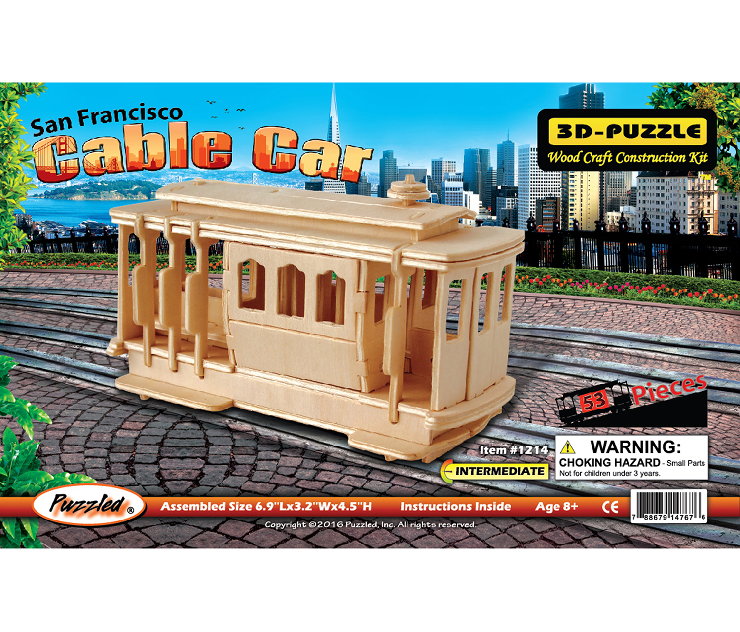 3D Puzzles Cable Car by Puzzled