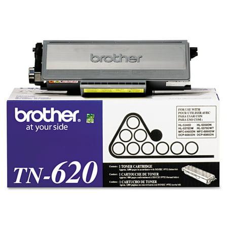 Brother TN620 Toner, 3000 Page-Yield, Black Color Laser Copier Black Toner