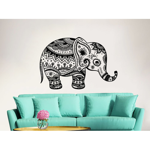 Decal House Elephant Wall Decal