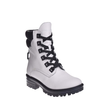 Kendall   Kylie East Combat Boot   White
