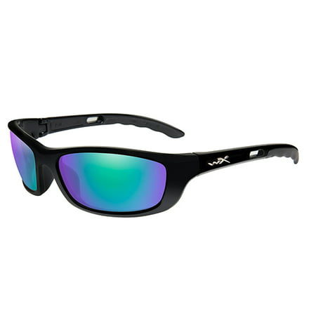 04d92fb806b1 Wiley X - Sunglasses P- 17 GM P-17GM POL EMERALD GREEN LENS/GLOSS BLACK  FRAM - Walmart.com