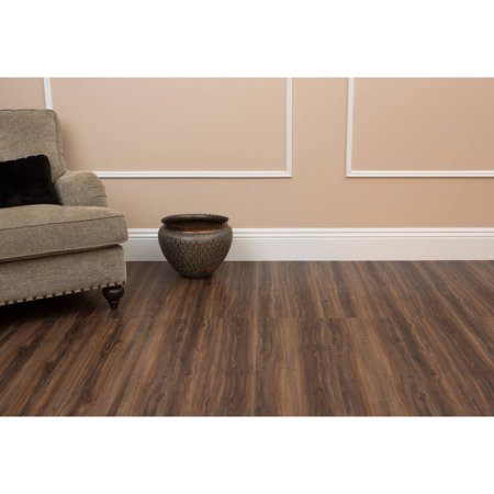 Peel And Stick Laminate Flooring laminated flooring bizarre laminate stick on Tivoli Ii 6x36 Peel N Stick Vinyl Planks 10 Planks15 Sqft Walmartcom