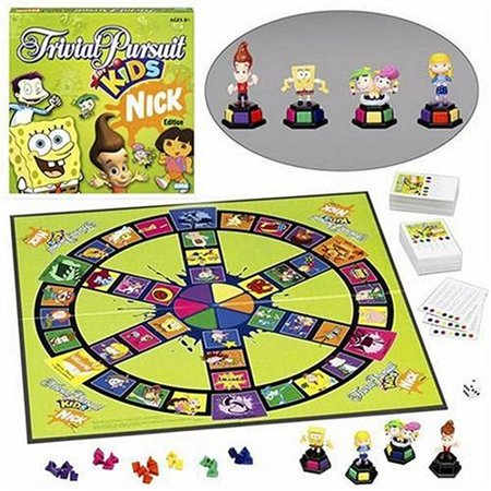 Trivial Pursuit For Kids: Nickelodeon Edition