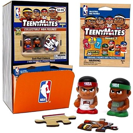TeenyMates NBA Series 3 Mystery Box [32 Packs]