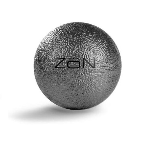 Zon Hand Exercise Ball (Silver/Black) Multi-Colored