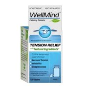 WellMind Tension Relief Tablets, Homeopathic, 100 ea