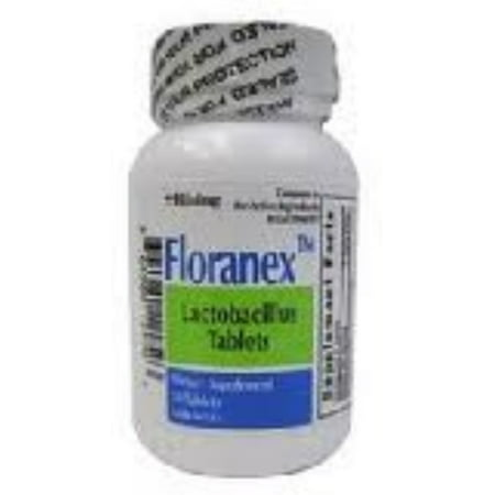 6 Pack - Floranex Dietary Supplement Tablets [New Formula] 50 ea