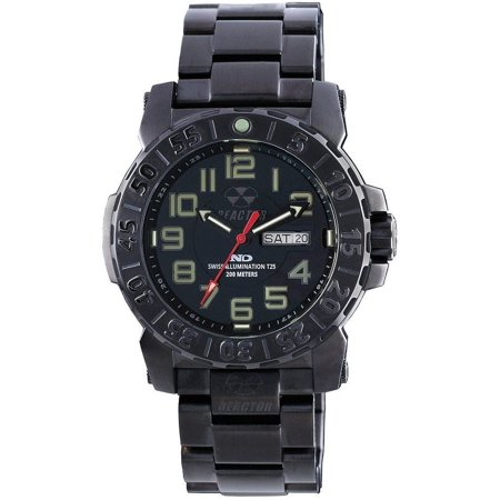 - REACTOR Trident 2 Watch - Mens, Black / Black Dial,