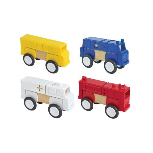 Guidecraft Block Mates - Vehicles
