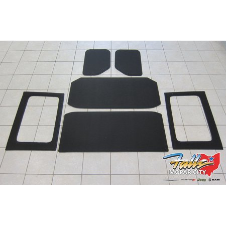 11-2018 Jeep Wrangler JK Unlimited Hard Top Headliner Insulation Kit Mopar