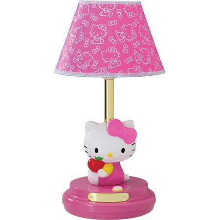 Hello Kitty Table Lamp, Pink](Hello Kitty Desk Accessories)