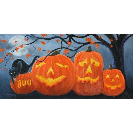 Halloween Pumpkins Poster Print by Julie Peterson - Julie Ann Art Halloween Costumes