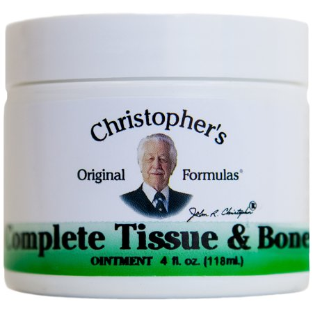 Dr. Christopher's Complete Tissue and Bone Ointment, 4 Oz