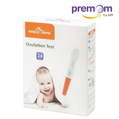 Easy Home 24 Ovulation  Lh  Tests   Midstream Test Sticks