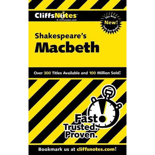 Cliffsnotes Shakespeare's Macbeth