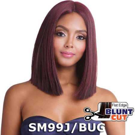 Brown Sugar Human Hair Blend Full Wig - BS134 (2 Dark Brown)](Dark Wig)