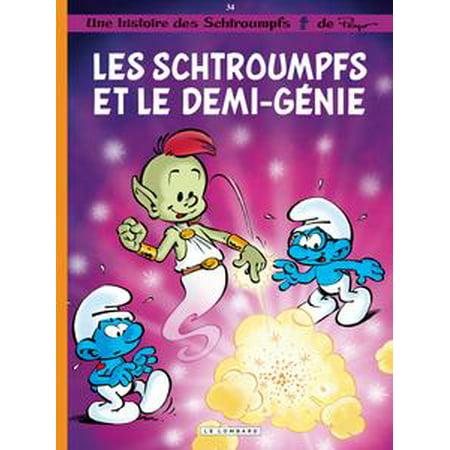 Les Schtroumpfs - Tome 34 - Les Schtroumpfs et le demi-génie - eBook (Les Schtroumpfs Halloween)