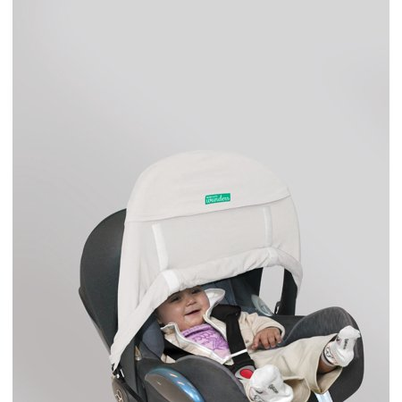 Wunders - Universal Cover Zero+ for Car Seat and Carriers - Cream
