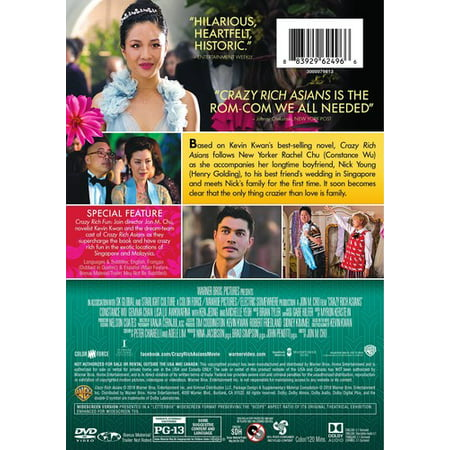 Crazy Rich Asians (DVD) (Crazy Holidays In November)